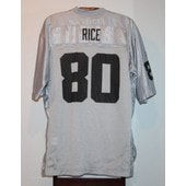 Maillot Trikot Jersey Foot Am�ricain Nfl Jerry Rice Oakland Raiders S
