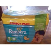 Paquets 90 Couches Pampers Baby Dry Taille 3 18� L'un