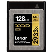 Lexar XQD Card 128GB 2933x Professional