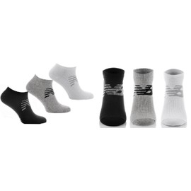 New Balance Pack 3 Paires Chaussettes Courtes 3 Couleurs Neuf