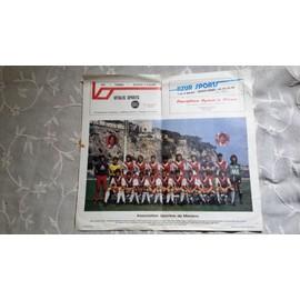 Poster De Monaco Saison 82/83 Ou 83/84