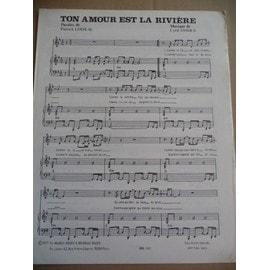 ton amour est la rivière Dave