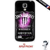 Coque Galaxy S4 Mini Jack Daniels Monster Rose Cocktail Drink