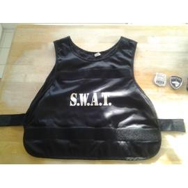 Deguisement Gilet Swat Taille M