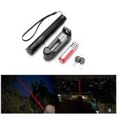 Ultra Puissant Pointeur Laser rouge 1mw 532nm + Cl� De S�curit� + Batterie + Chargeur