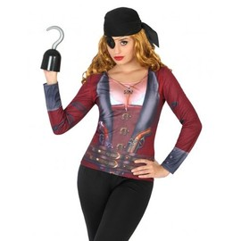 T-Shirt Pirate Femme, Taille M / L