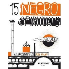 15 NEGRO SPIRITUALS