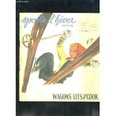 Wagons-Lits//Cook- Sports D Hiver 1937-38 de COLLECTIF