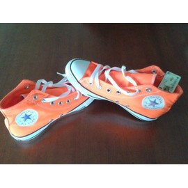 Baskets Converse All Star Orange Fluo