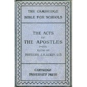 The Acts Of The Apostles (I-Xiv) de COLLECTIF