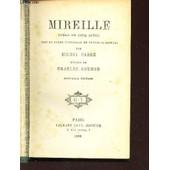 Mireille - Opera En Cinq Actes - Tire Du Poeme Provencal De Frederic Mistral / Nouvelle Edition. de CARRE MICHEL