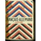 Petit Dictionnaire Francais-Allemand de emile mersiol