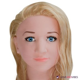 Poup�e Gonflable Gonflable Blonde Poupee R�aliste Vagin Artificiel Anus - Sextoy Pour Homme En Livraison Gratuite