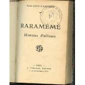 Rarameme : Histoire D'ailleurs. de andr� lichtenberger