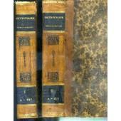 Dictionnaire Francois-Espagnol Et Espagnol-Francois, Avec L'interpretation Latine De Chaque Mot - 2 Tomes - 1 + 2. de GATTEL C.M.