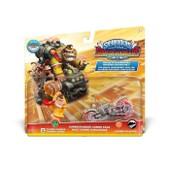 Figurines Turbo Charge Donkey Kong + Barrel Blaster Skylanders Superchargers