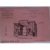 Maroc Entr�e Au Site De Volubilis 1978