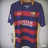 Maillot Foot Bar�a Taille M Mod�le 2015