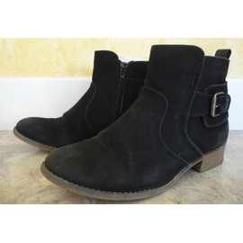 Bottines G�mo Bleues Marine Pointure 38