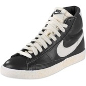 525366-002 Nike Wmns Blazer Mid Lthr Vntg (Noir) Cuir