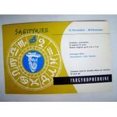 Buvard - Sagittaire - Pharmacie -