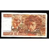 1 Billet De 10 Francs Hector Berlioz 1977 France