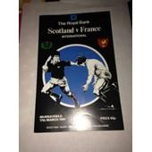 Scotland France Du 17/03/1984 A Murrayfield