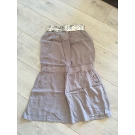 Robe Bustier Sequins Superbe Taille 36 Neuve !!