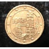 10 Euro Cent, Autriche, 2007