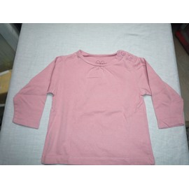 T-Shirt Vieux Rose, 12 Mois