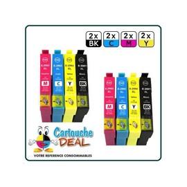 Epson 29xl : Lot 8 Cartouches Compatible Expression Home Xp235 Xp332 Xp335 Xp432 Xp435 - T2991 T2992 T2993 T2994