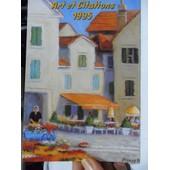 Calendrier Art Et Citations - 1995 - Reproductions D'oeuvres Originales D'artistes Peignant De La Bouche Et Du Pied