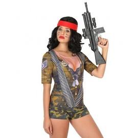 T-Shirt Soldat Femme, Taille M / L