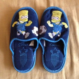 Chaussons Simpsons
