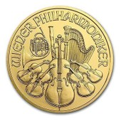 10 Euros Or Autriche 2015 Piece En Or 1/10 D'once D'or Pur Autriche Philharmonique De Vienne