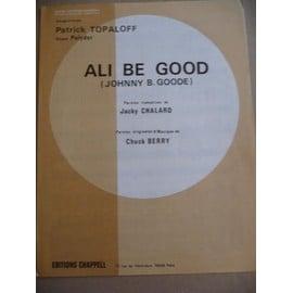 ALI BE GOOD Patrick Topaloff Chuck Berry