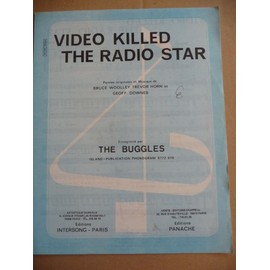 VIDEO KILLED THE RADIO STAR tHE BUGGLES