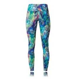 Asics Graphic Femmes Long Sport Running Gym Ajust� Collants Leggings Cale�ons