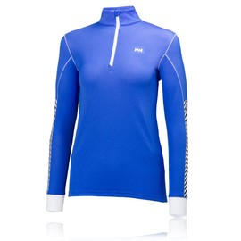 Helly Hansen Active Flow Femmes Violet Manche Longue T Shirt Haut Running Top