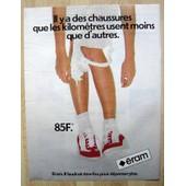 Publicit� Papier - Chaussures �ram De 1981