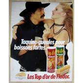 Publicit� Papier - Bisciuits Ap�ritif Flodor De 1981