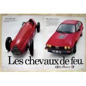 Publicit� Papier - Voitures Alfa Romeo Alfetta 159 Et Gtv6 2.5 De 1981
