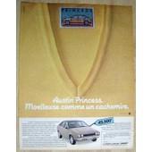 Publicit� Papier - Voiture Austin Princess De 1981