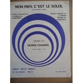 MON PAYS C'EST LE SOLEIL George Chakiris