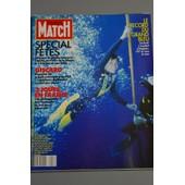 Paris Match N� 2108 : Le Record Du Grand Bleu 107m Sous La Mer
