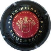 Capsule De Champagne Piper Heidsieck Rouge Et Noir 127