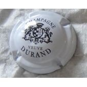 Capsule De Champagne Veuve Durand - Noir Sur Fond Blanc