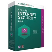 Kaspersky Internet Security 2016 - Licence 3 Postes 1 An