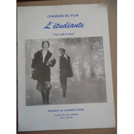 YOU CALL IT LOVE Vladimir Cosma du film L'Etudiante