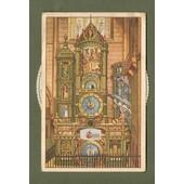 3 C.P. Anciennes � Syst�me & Illustrateur - Strasbourg - Horloge Astronomique De La Cath�drale / Strassburg I.E. - Astronom Uhr Im M�nster